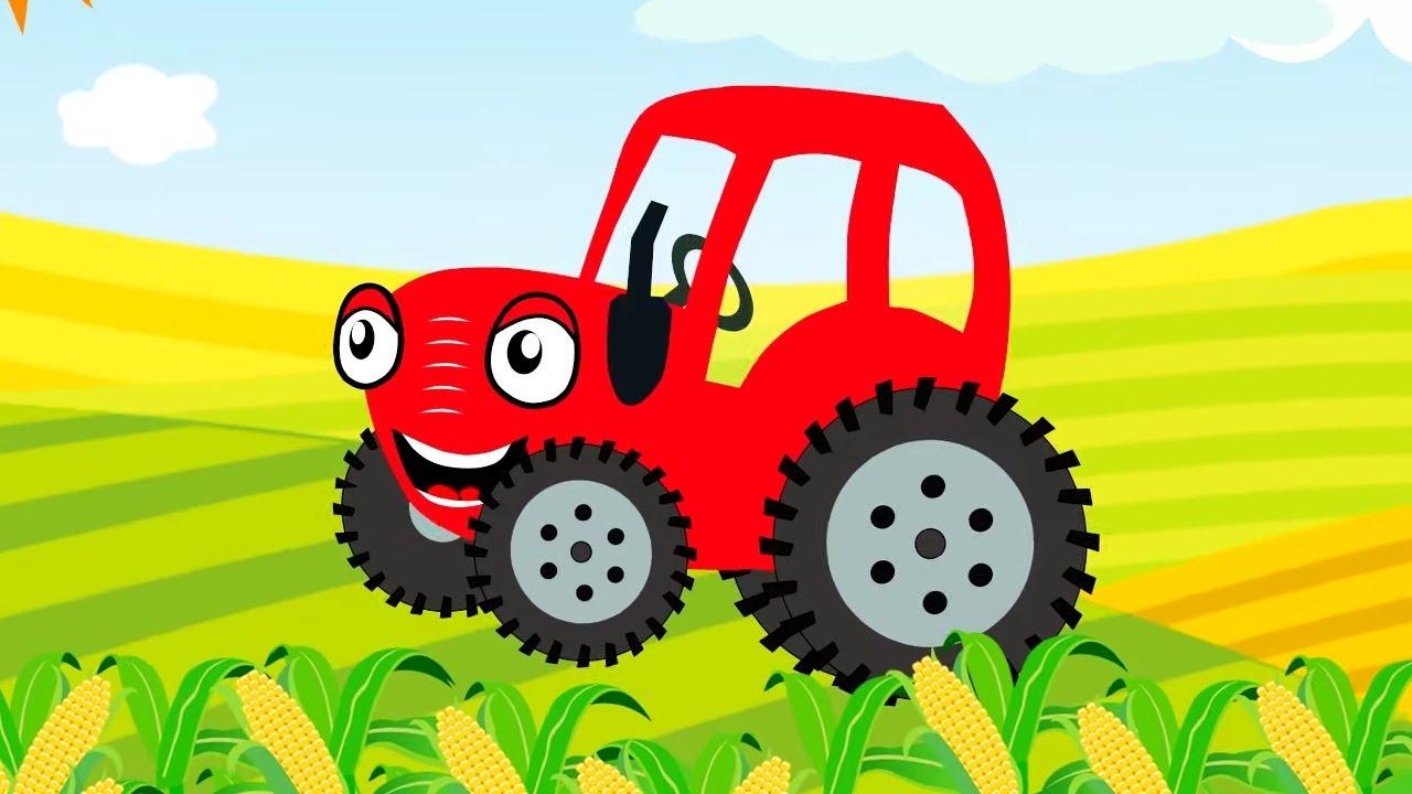 Теремок ТВ — Тыр Тыр Трактор — Все новые серии про машинки | Песенки для детей
