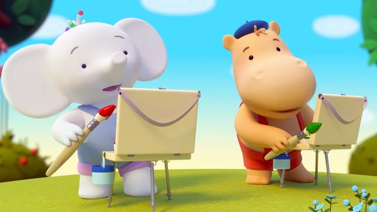 Тима и Тома — Пейзаж — Приключения Комедия Мультфильм для детей