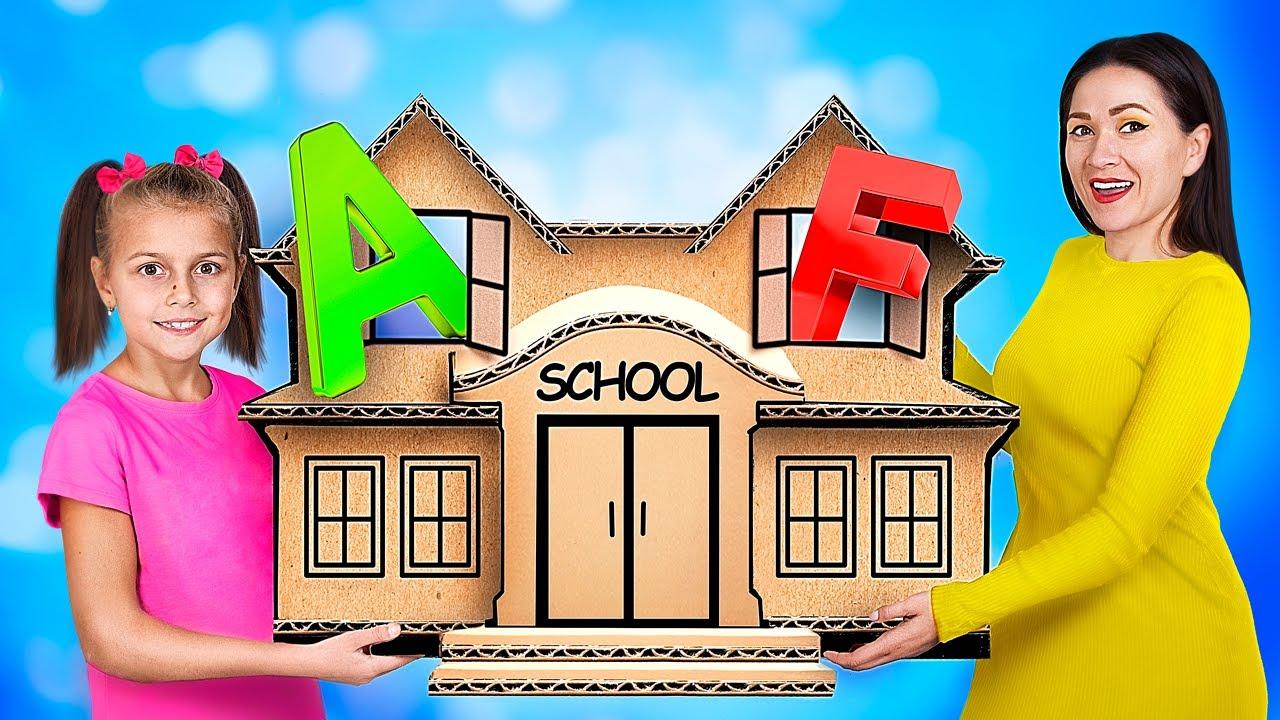 Трум Трум — 14 лайфхаков для родителей! Снова в школу!