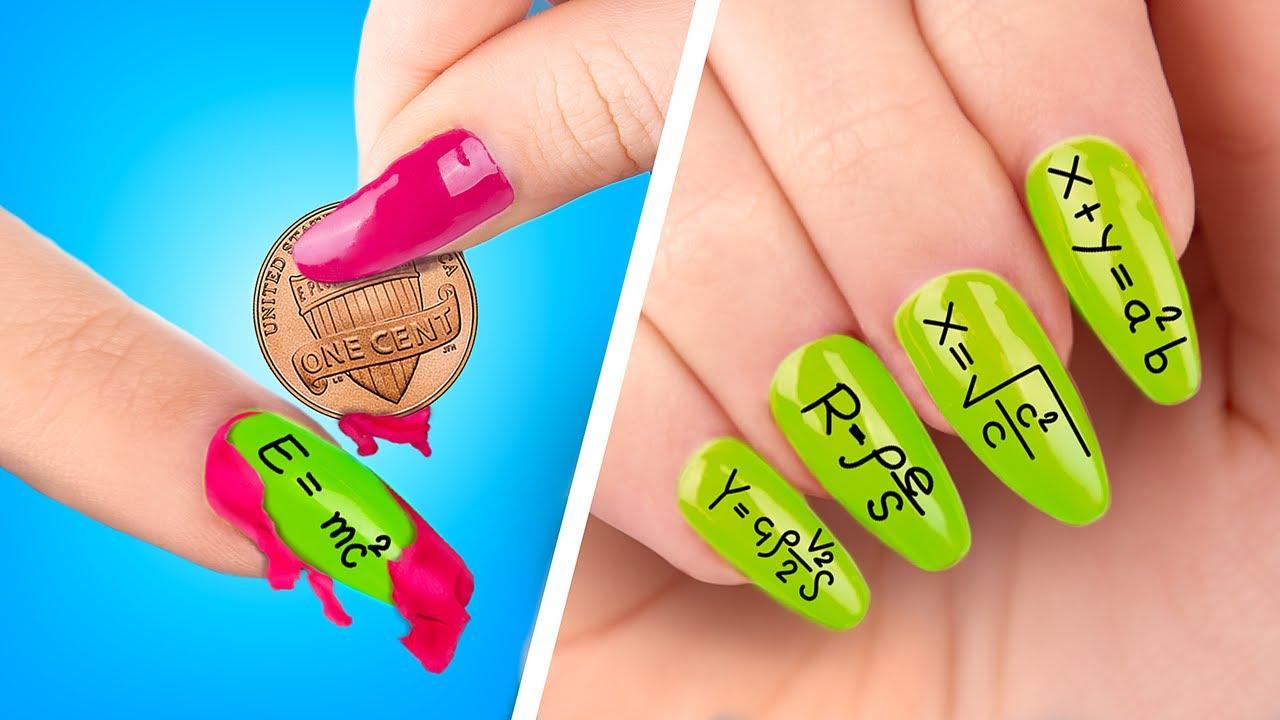Трум Трум — 16 странных лайфхаков для ногтей в колледже