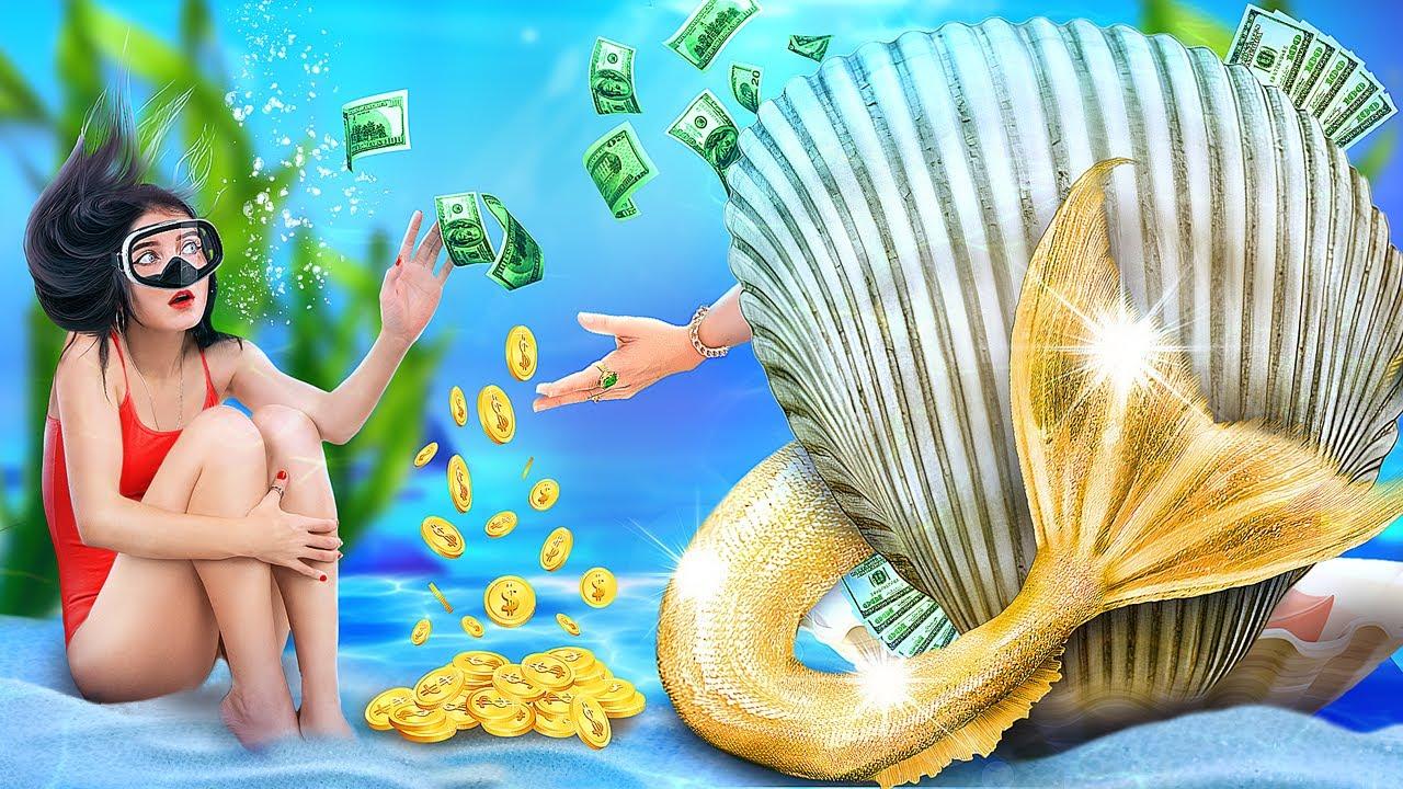 Трум Трум — Моя мама – русалка! Меня удочерили миллионеры