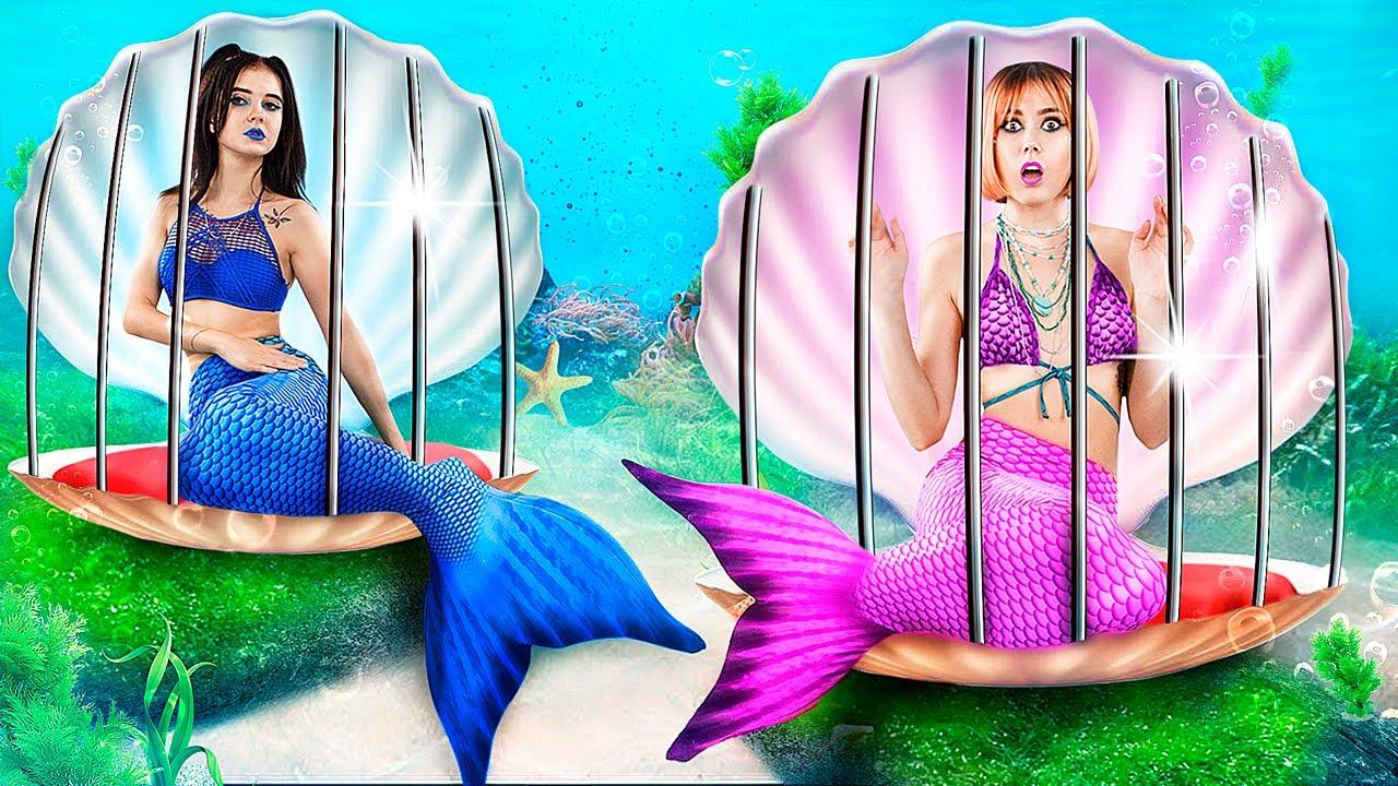Трум Трум — Плохая русалка vs хорошая русалка в тюрьме! Побег из подводной тюрьмы