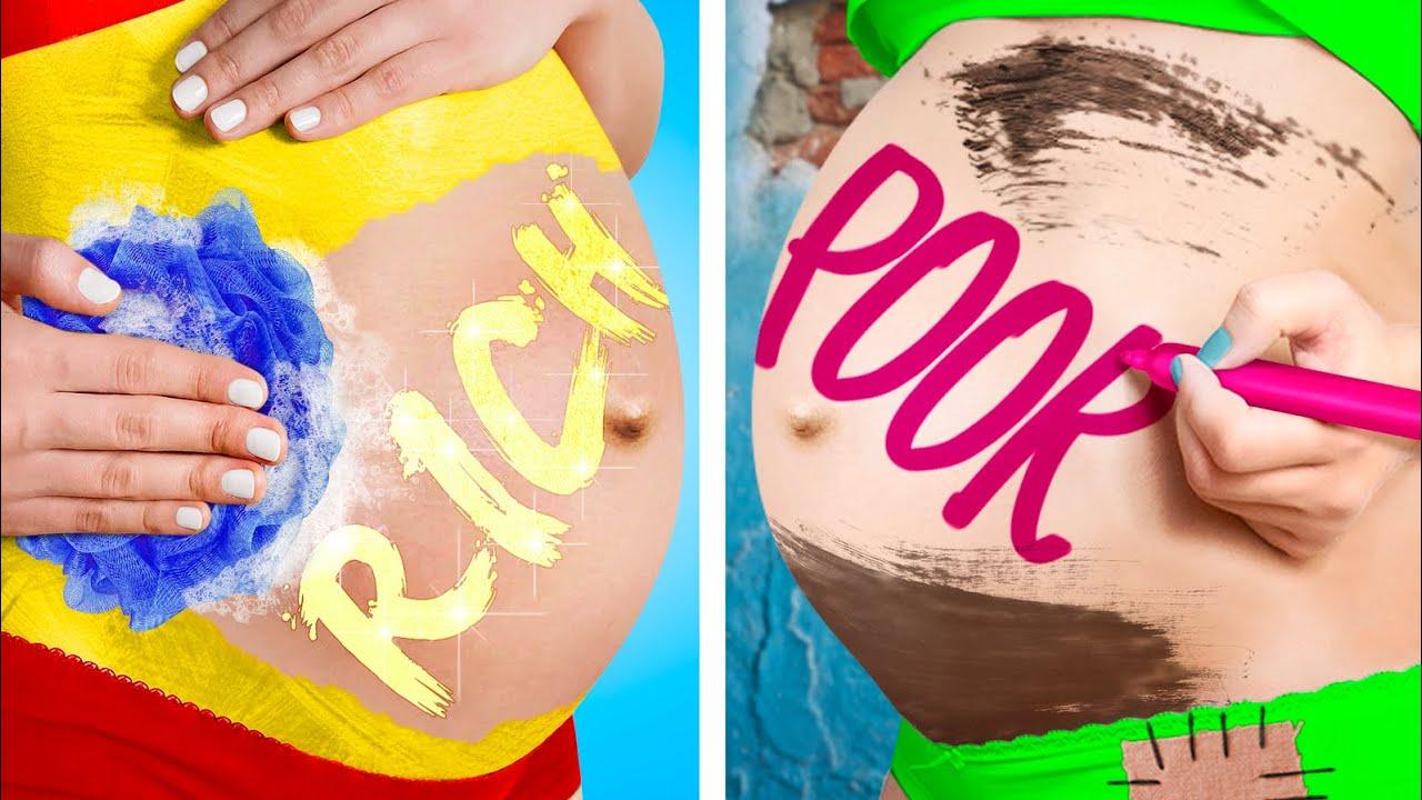 Трум Трум СЕЛЕКТ — Бедная беременная VS Богатая беременная